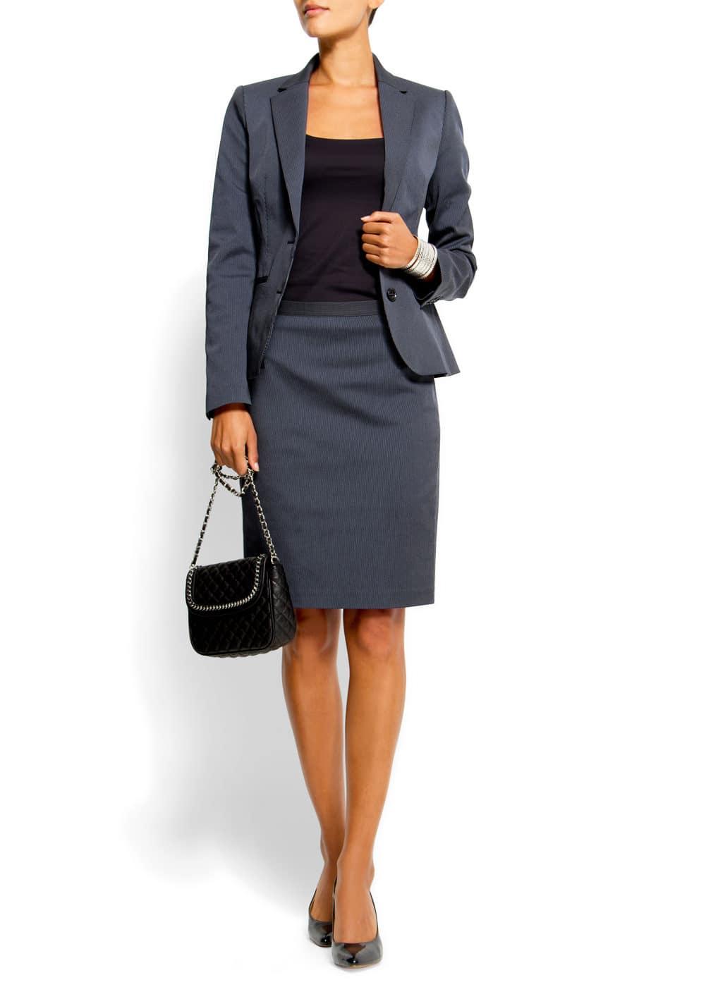 Prinstripe skirt | MANGO
