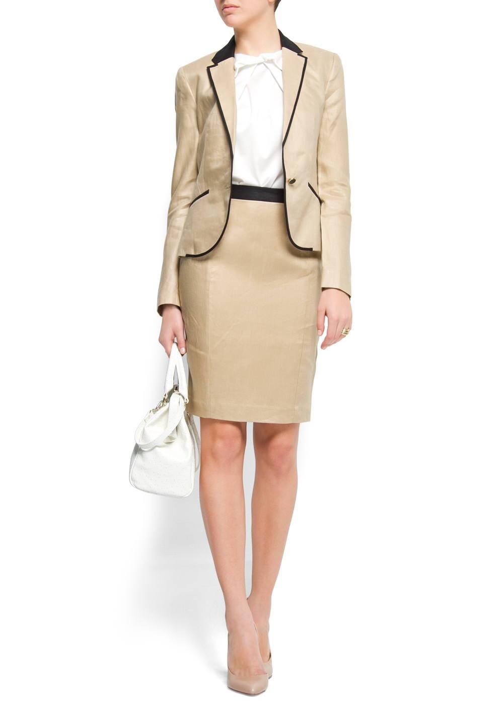Linen blazer | MANGO