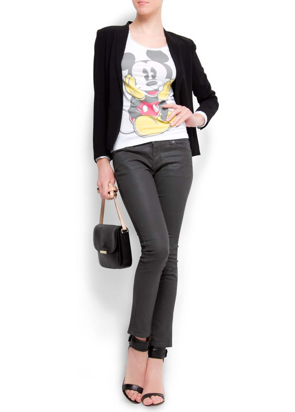 Mickey mouse t-shirt | MANGO