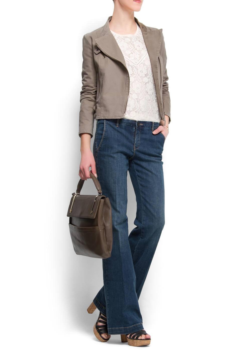 Laced blouse | MANGO