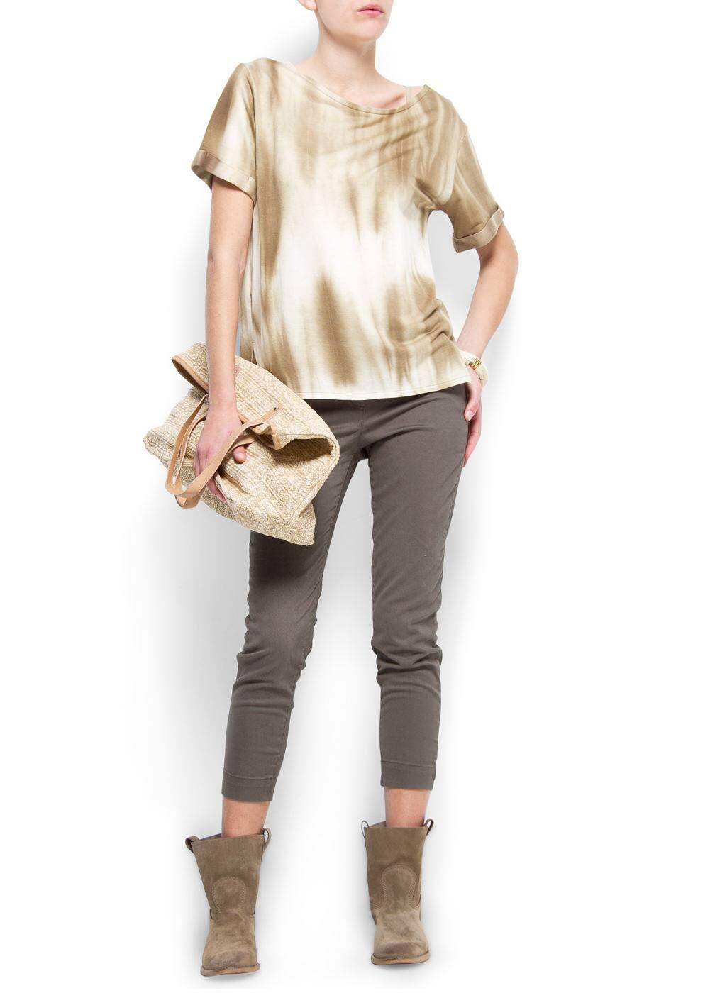 Slim-fit chino trousers   MANGO