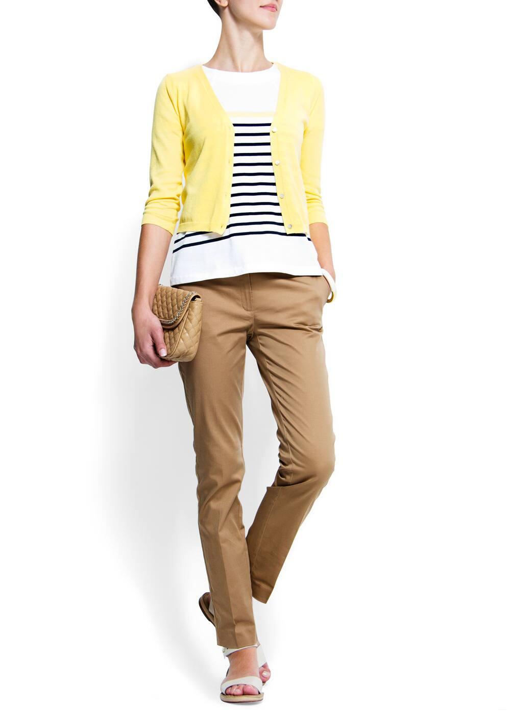 Basic v-neck cardigan | MANGO