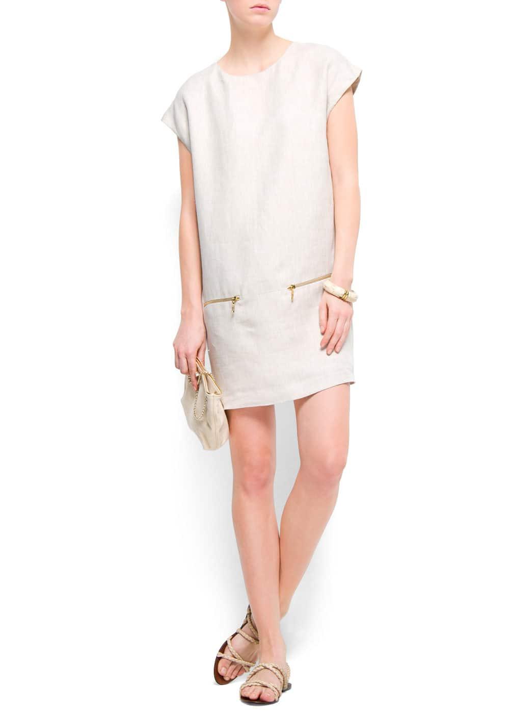 Linen dress | MANGO