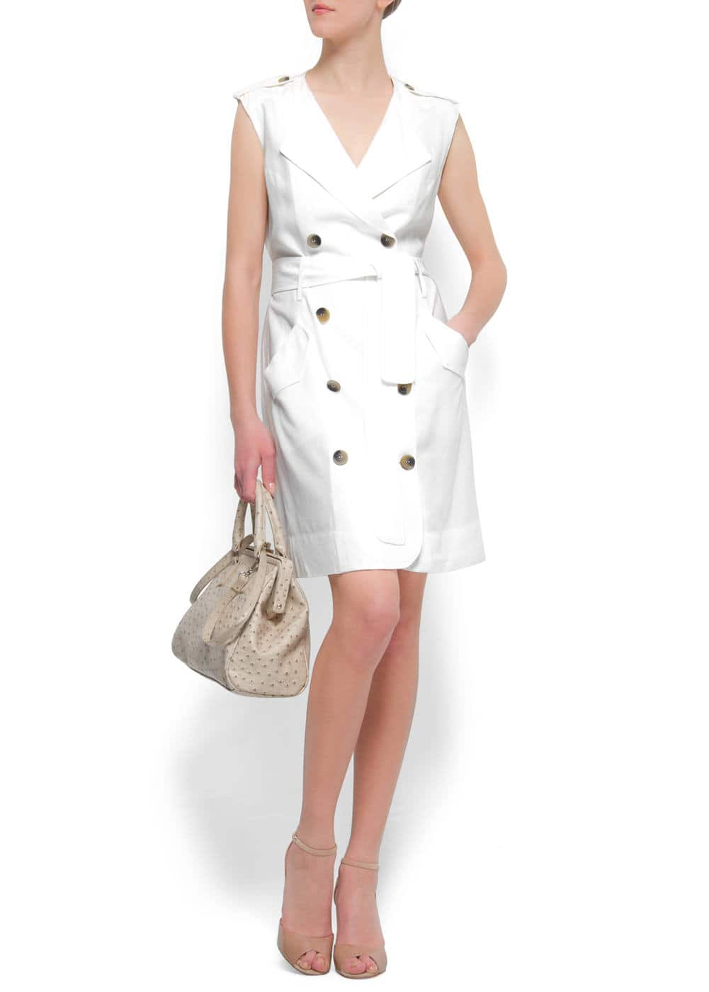 Linen dress   MANGO