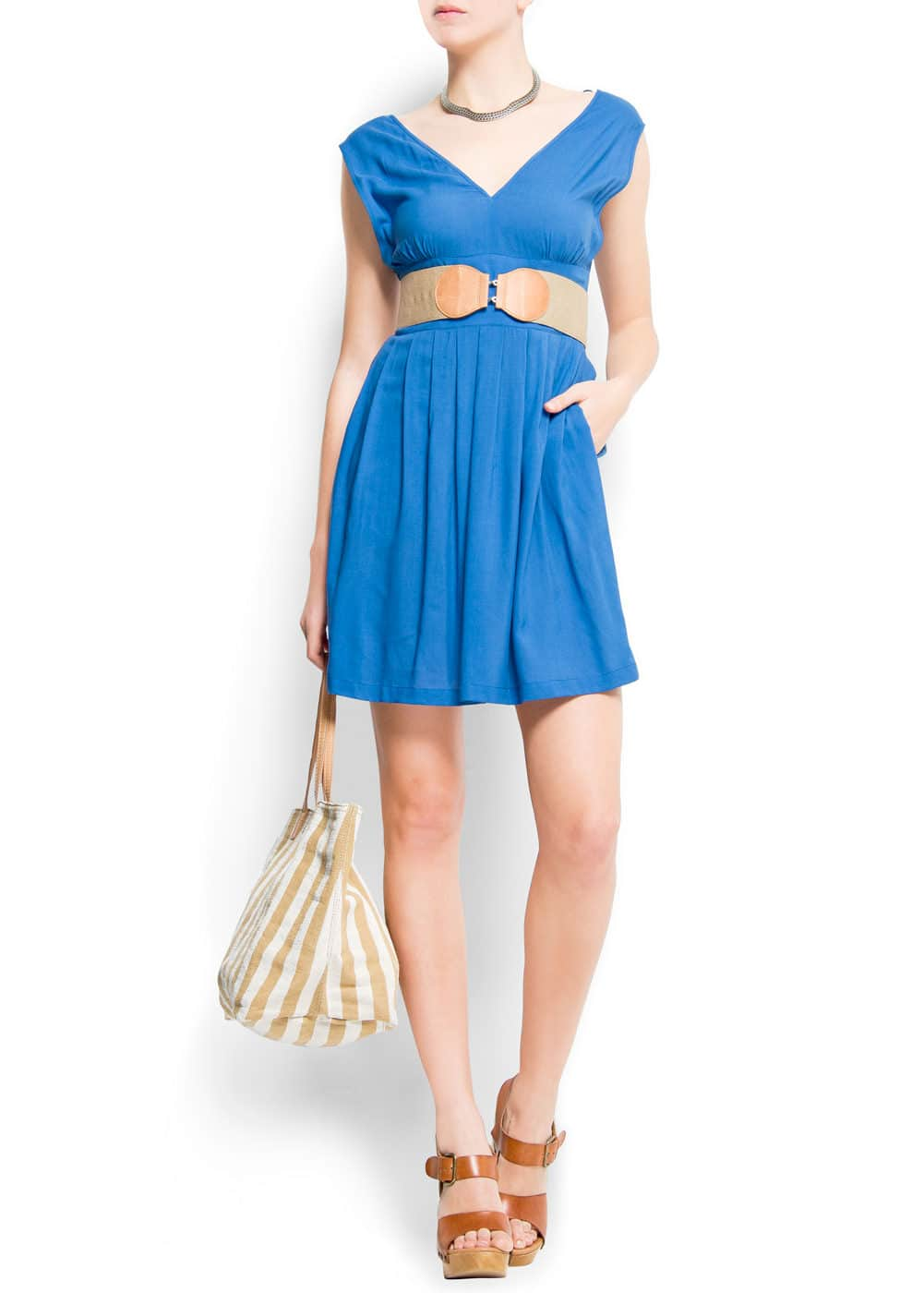 Slim mini dress   MANGO