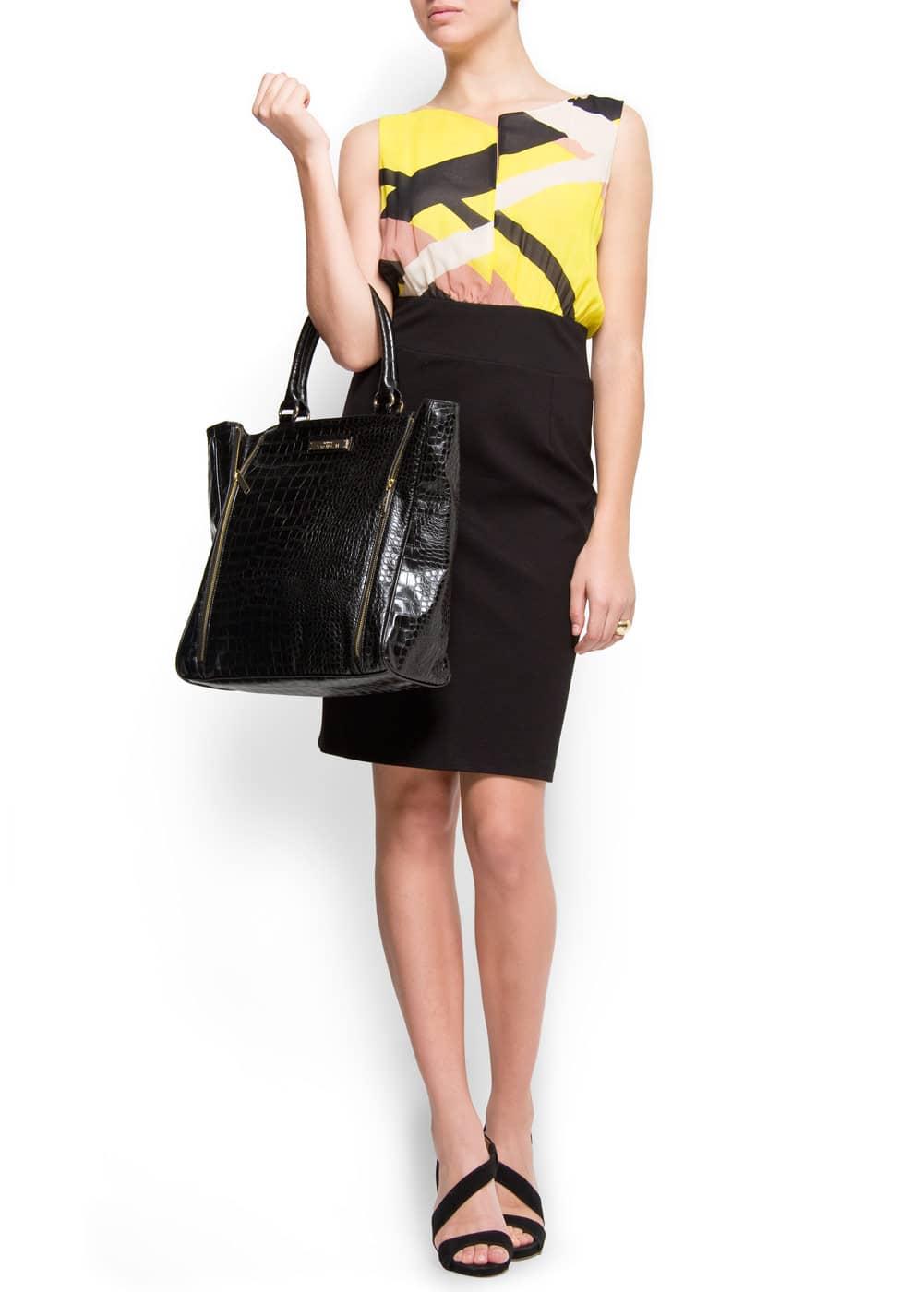 Bag zipper | MANGO