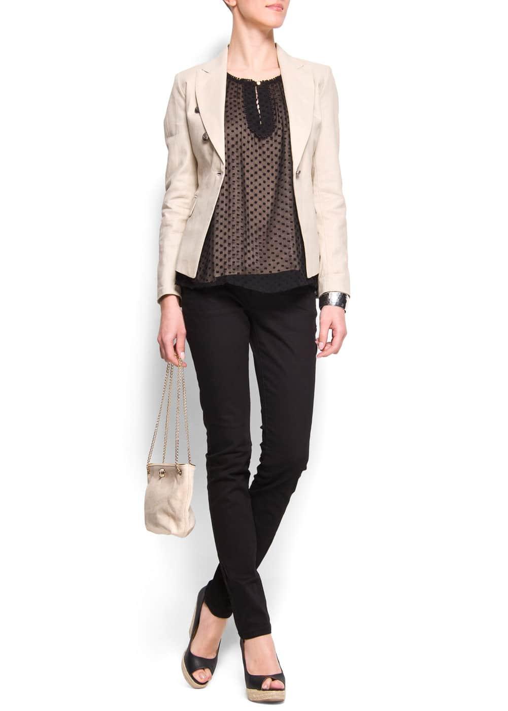 Plumeti blouse | MANGO