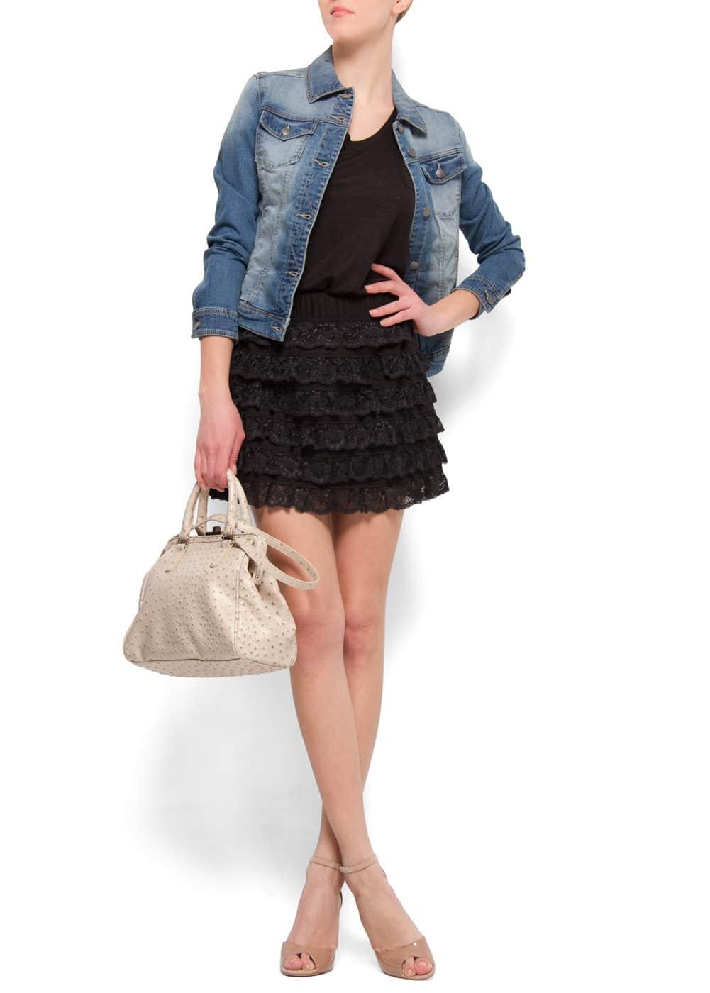 Ruffles miniskirt | MANGO