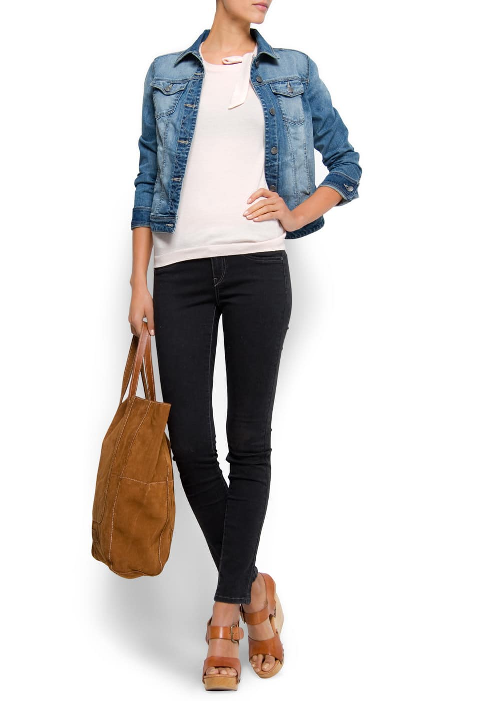 Super slim jeans   MANGO