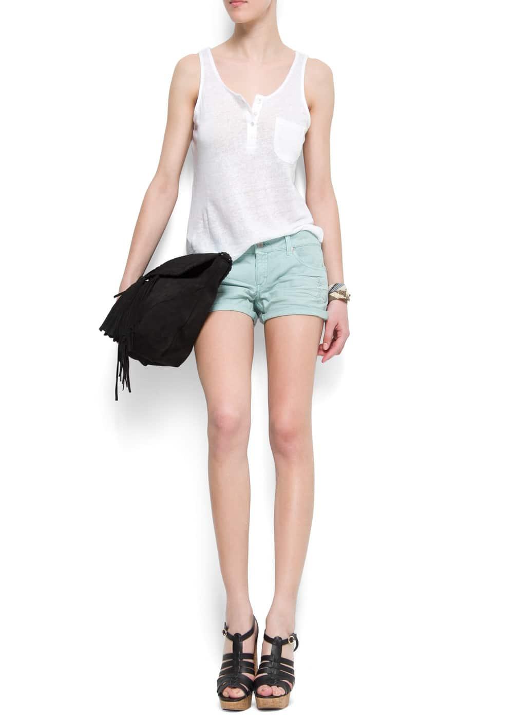 Ripped shorts | MANGO