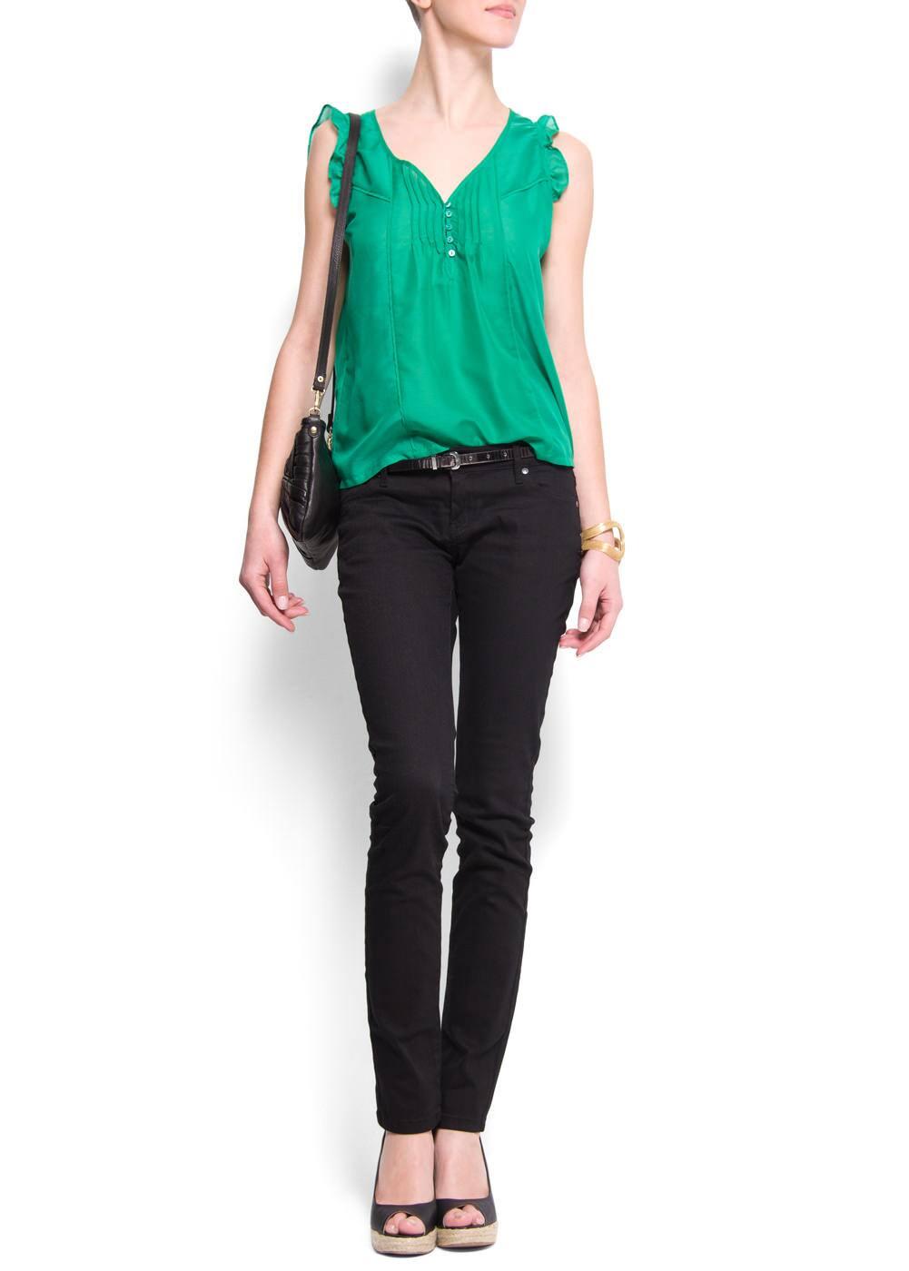 Slim-leg five pockets jeans | MANGO