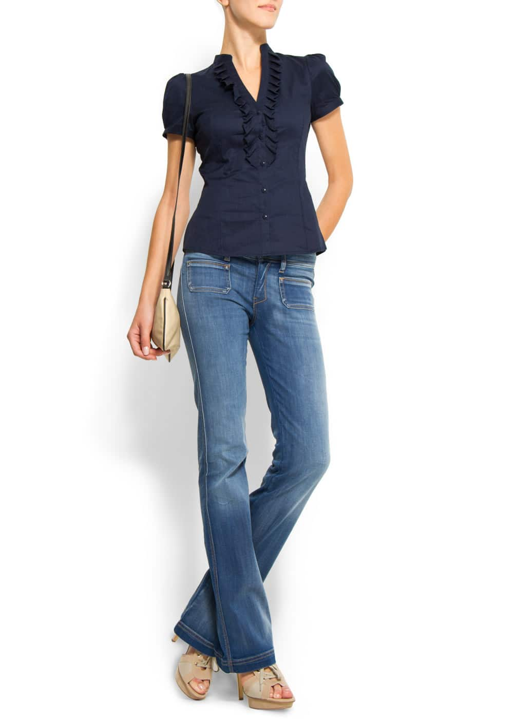 Short sleeves shirt | MANGO