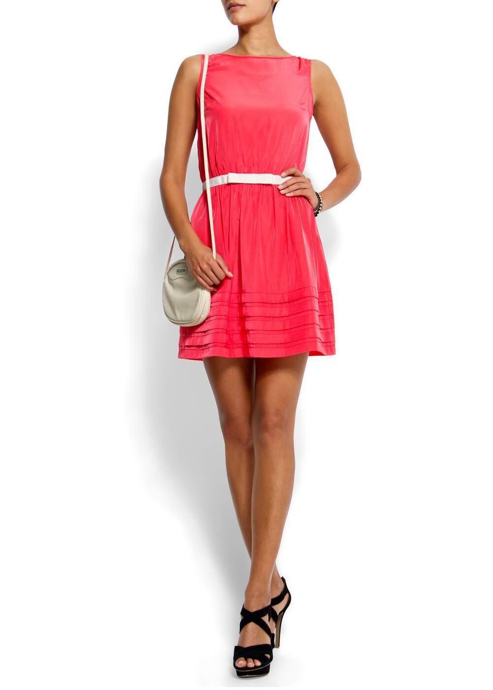 Flared skirt dress | MANGO
