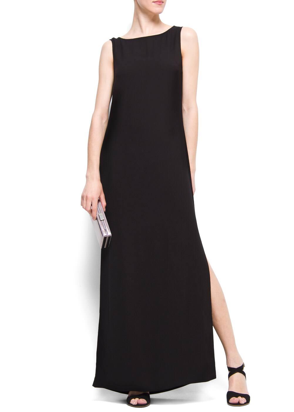Straight cut maxi-dress | MANGO