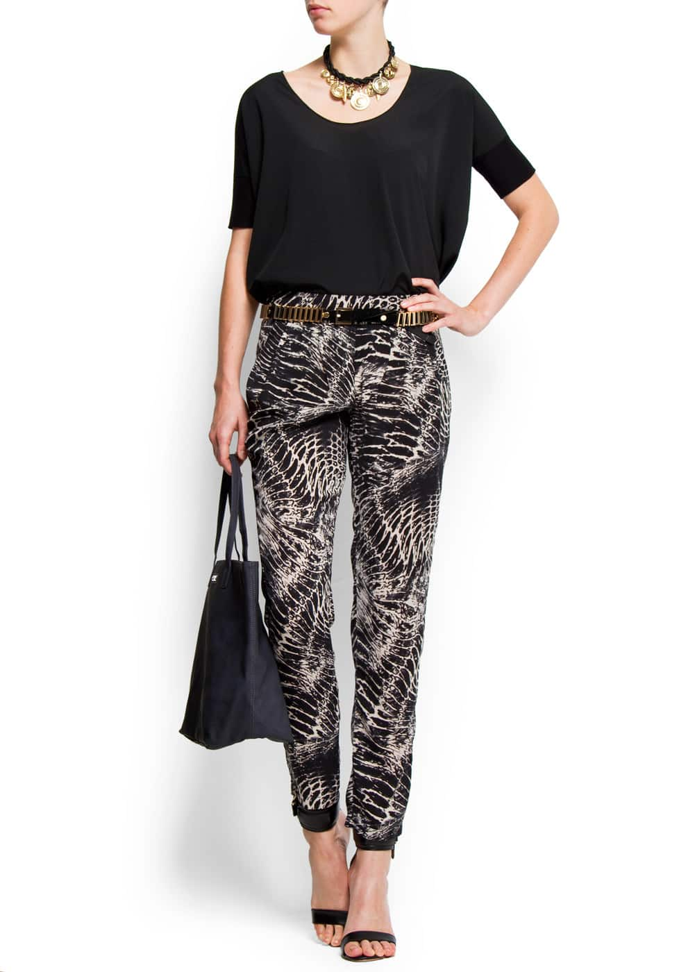 Shopper handbag | MANGO