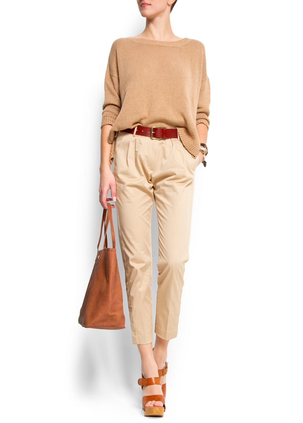 Pleated trousers | MANGO