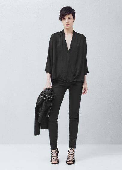Belle skinny jeans | MANGO