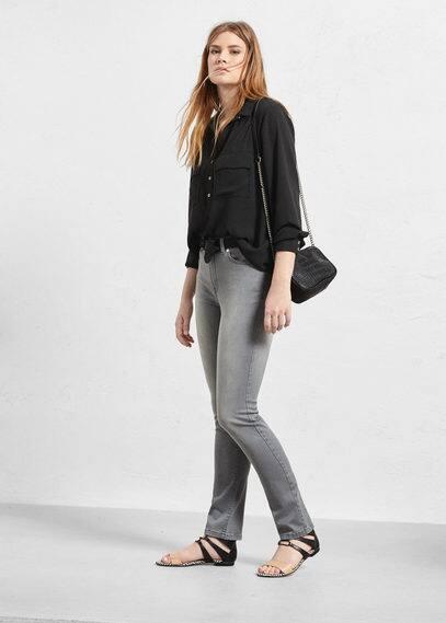 Slim-fit valentina jeans | VIOLETA BY MANGO