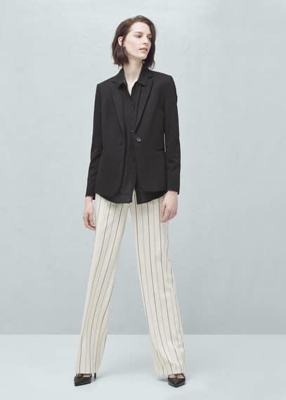 Essential structured blazer | MANGO