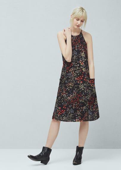 Çiçekli elbise | MANGO