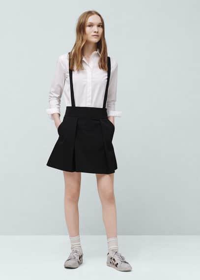 Removable straps skirt | VIOLETA BY MANGO