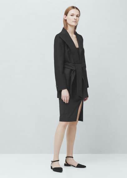 Wool coat | MANGO