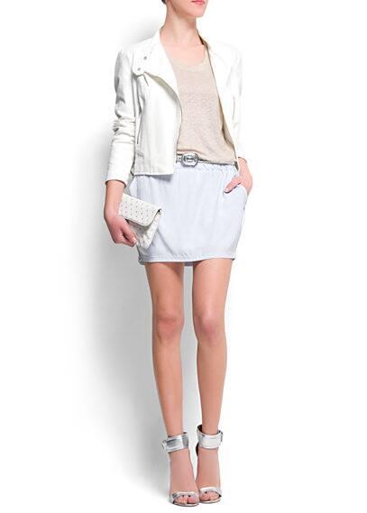 Minifalda laterales contraste