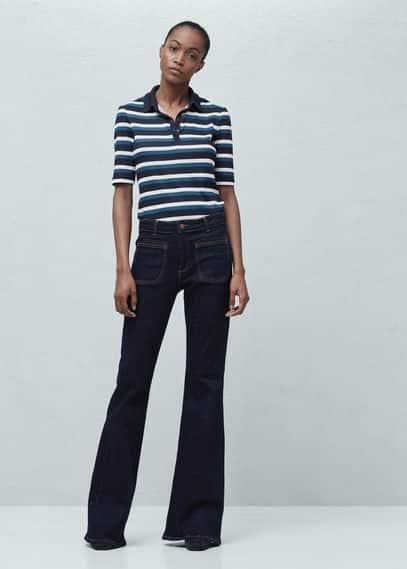 Newflare wijd uitlopende jeans | MANGO