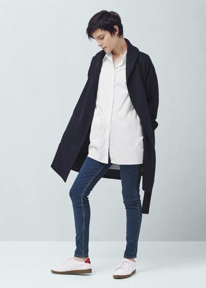 紧身olivia牛仔裤 | MANGO