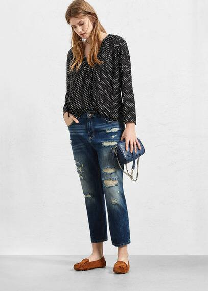 Boyfriend claudia jeans | VIOLETA BY MANGO