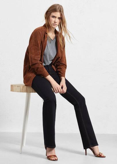 Bootcut martha jeans | VIOLETA BY MANGO
