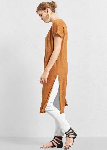 Camiseta lino | VIOLETA BY MANGO
