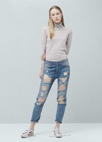 Angie boyfriend jeans | MANGO
