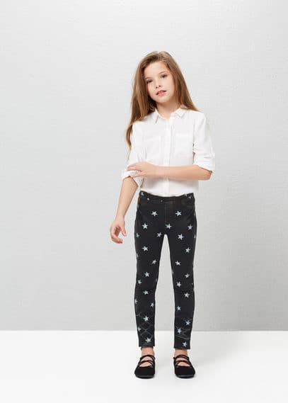 Lightweight chest-pocket shirt | MANGO KIDS