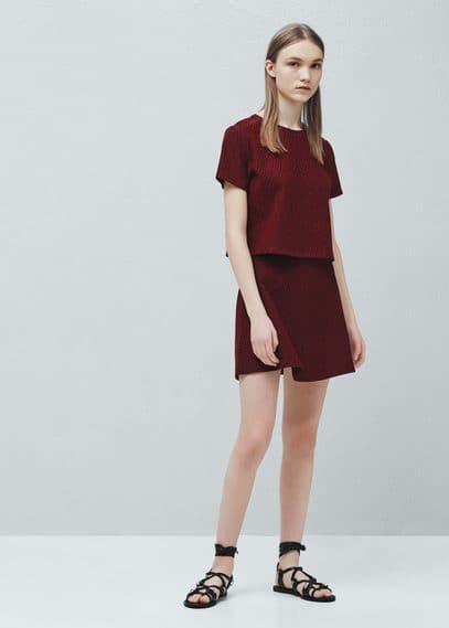 Falda algodón | MANGO