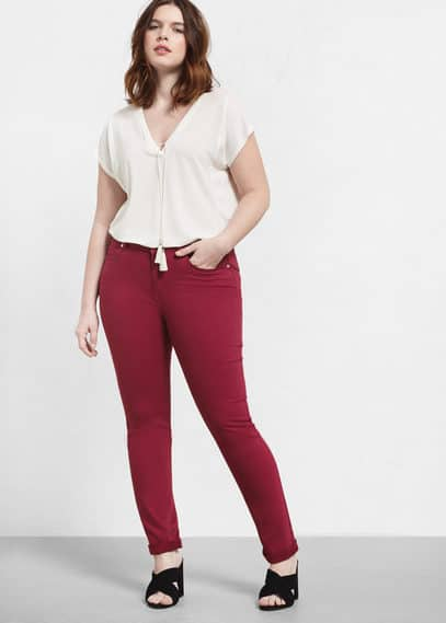 Jeans slim julia | VIOLETA BY MANGO