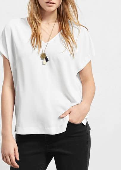 Flowy blouse | VIOLETA BY MANGO