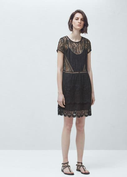 Lace dress | MANGO