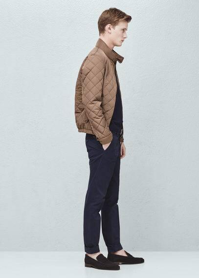 Pocket quilted jacket | MANGO MAN
