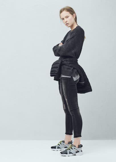 Pullover mit fledermausärmeln | MANGO
