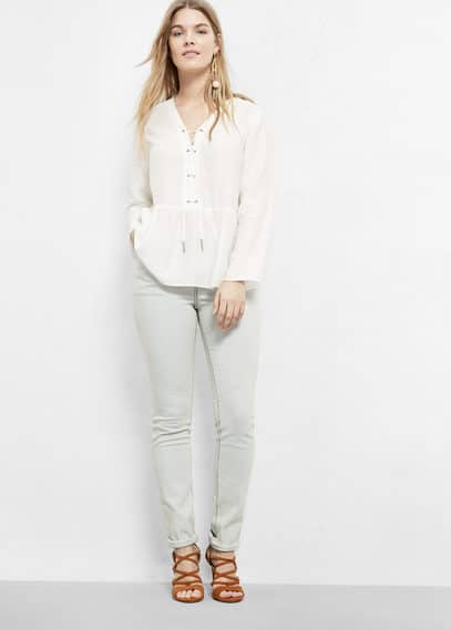 Slim-fit pauls jeans | VIOLETA BY MANGO