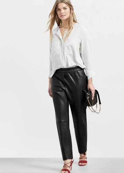 Pantalon baggy | VIOLETA BY MANGO