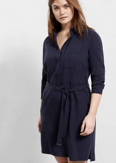 Soft fabric dress | VIOLETA BY MANGO