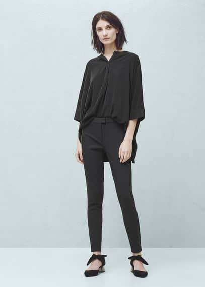Pantalón algodón cremalleras | MNG