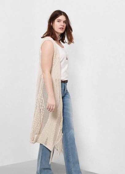 Light knit gillet | VIOLETA BY MANGO