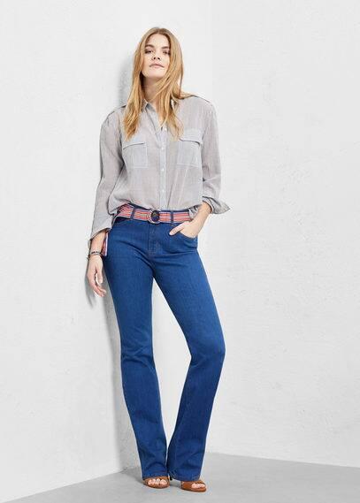 Bootcut stella jeans | VIOLETA BY MANGO