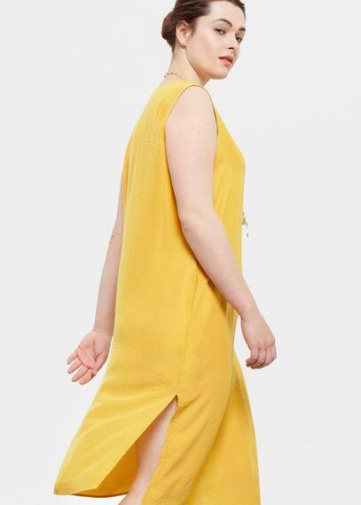 Vestido fluido | VIOLETA BY MANGO
