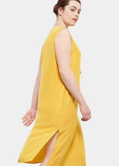 Flowy dress | VIOLETA BY MANGO