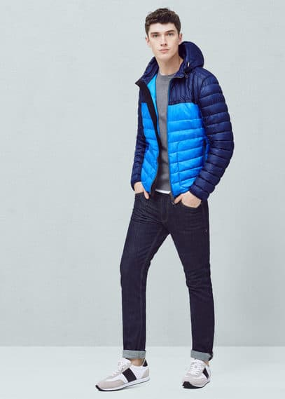 Ultra-light quilted coat | MANGO MAN