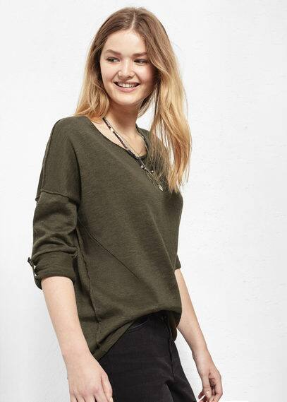 Cotton sweater | VIOLETA BY MANGO